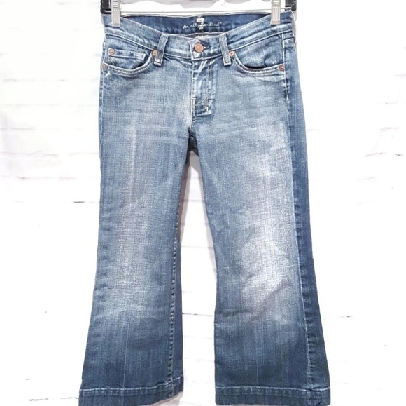 7 For All Mankind Pants - 7 For All Mankind | Dojo Distressed Bermuda Shorts